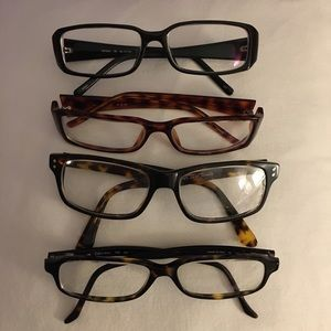 Calvin Klein eyeglasses and 3 others with cases 🤓